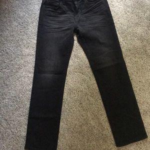 American Eagle Slim Straight Denim Jeans (dark)